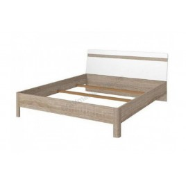 Ліжко Ліберті LOZ 160 (КАРКАС) глянець білий