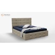 М'яке ліжко підйомне м'яка спинка з каркасом Брістоль 1,6x2,0