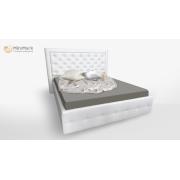 М'яке ліжко підйомне м'яка спинка з каркасом Франко 1,8x2,0