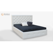 М'яке ліжко підйомне м'яка спинка з каркасом Франко 1,6x2,0