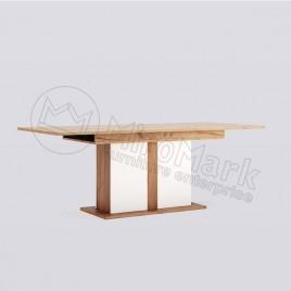 Стіл столовий Асті розсувний трансформер глянець білий