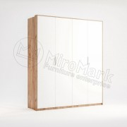 Шафа Асті 4 дверна без дзеркал