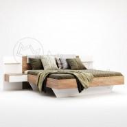 Ліжко Асті 1,6х2,0 м'яка спинка з тумбами