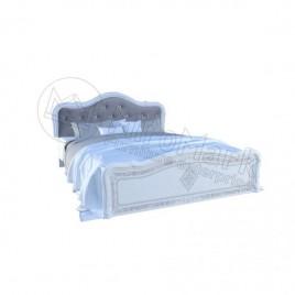 Ліжко Луїза 1,6х2,0 Люкс глянець білий