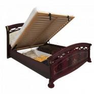 Ліжко Роселла 1,6х2,0 підйомне м'яка спинка з каркасом Люкс